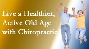 Pensacola Spinal Rehab Center welcomes older patients to incorporate chiropractic into their healthcare plan for pain relief and life's fun.