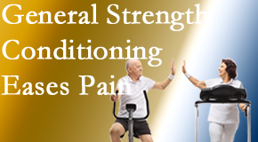 Pensacola Spinal Rehab Center helps patients find the right exercise for them to strengthen their spine and body to best ease back pain.