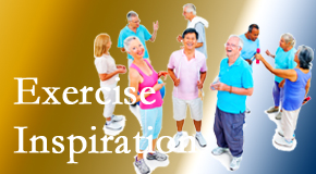 Pensacola Spinal Rehab Center hopes to inspire exercise for back pain relief by listening carefully and encouraging patients to exercise with others.