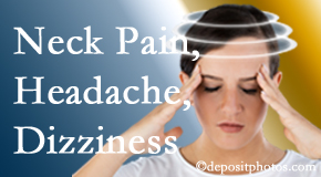 Pensacola Spinal Rehab Center helps relieve neck pain and dizziness and related neck muscle issues.
