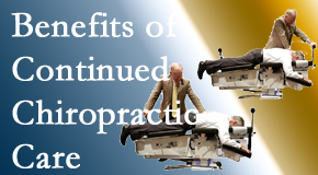 Pensacola Spinal Rehab Center presents continued chiropractic care (aka maintenance care) as it is research-documented as effective.