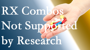 Pensacola Spinal Rehab Center uses research supported chiropractic care including spinal manipulation which may be found useful when non-research supported drug combinations don't work.