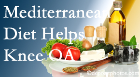 Pensacola Spinal Rehab Center shares recent research about how good a Mediterranean Diet is for knee osteoarthritis as well as quality of life improvement.