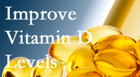 Pensacola Spinal Rehab Center explains that it's beneficial to raise vitamin D levels.