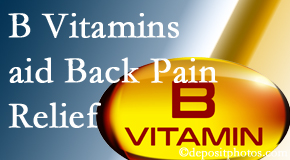 Pensacola Spinal Rehab Center may include B vitamins in the Pensacola chiropractic treatment plan of back pain sufferers.