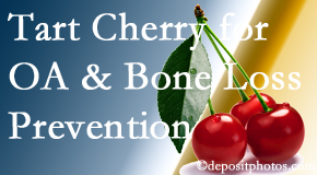 Pensacola Spinal Rehab Center shares that tart cherries may improve bone health and prevent osteoarthritis.