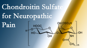 Pensacola Spinal Rehab Center finds chondroitin sulfate to be an effective addition to the relieving care of sciatic nerve related neuropathic pain.