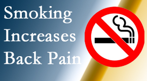 Pensacola Spinal Rehab Center explains that smoking intensifies the pain experience especially spine pain and headache.