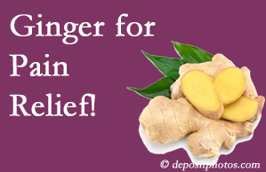 Pensacola chronic pain and osteoarthritis pain patients will want to check out ginger for its many varied benefits not least of which is pain reduction.