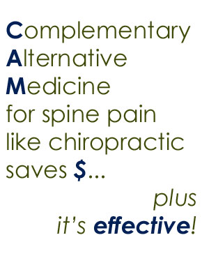 spine pain help from Pensacola chiropractors