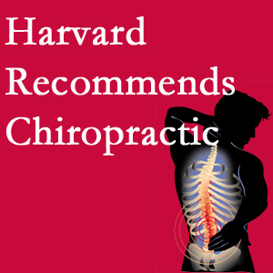 Pensacola Spinal Rehab Center offers chiropractic care like Harvard recommends.
