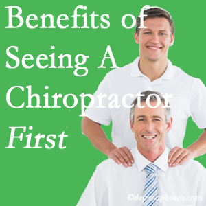 Getting Pensacola chiropractic care at Pensacola Spinal Rehab Center first may reduce the odds of back surgery need and depression.