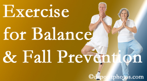 Pensacola chiropractic care of balance for fall prevention involves stabilizing and proprioceptive exercise.