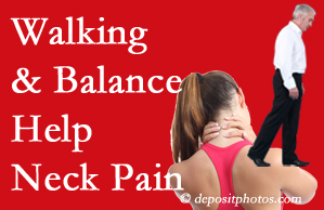 Pensacola exercise helps relief of neck pain attained with chiropractic care.