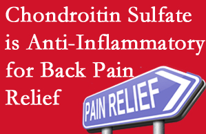 Pensacola chiropractic treatment plan at Pensacola Spinal Rehab Center may well include chondroitin sulfate!
