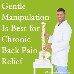 Gentle Pensacola chiropractic treatment of chronic low back pain is best.