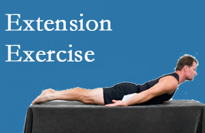 Pensacola Spinal Rehab Center recommends extensor strengthening exercises when back pain patients are ready for them.