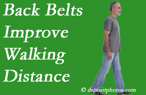Pensacola Spinal Rehab Center sees value in recommending back belts to back pain sufferers.