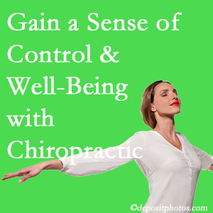 Using Pensacola chiropractic care as one complementary health alternative boosted patients sense of well-being and control of their health.