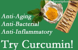 Pain-relieving curcumin may be a good addition to the Pensacola chiropractic treatment plan.