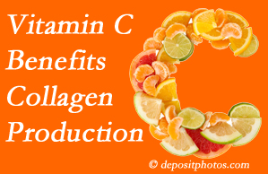 Pensacola chiropractic shares tips on nutrition like vitamin C for boosting collagen production that decreases in musculoskeletal conditions.